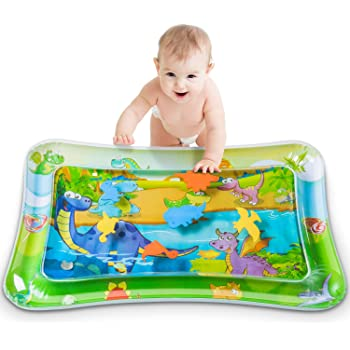Tummy Time Mat,Baby Water Mat,Tummy Time Water Play Mat for Babies Development Sensory Toys for 0 to 6 Months