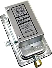 Siemens 141-0574 Powers SW 141 Line Voltage Differential Static Pressure Airflow Switch, Auto Reset Action, Silver