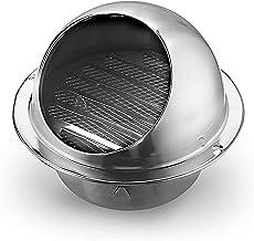 Ventilatiegatplaat 304 Rvs Ventilatie Uitlaat Cover Air Vent Ronde Grille Wall Vent Outlet Heating Cooling Waterproof Vent...