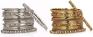 oxidised gold jewellery set