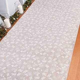 Rose Print Wedding Aisle Runner (100 Ft. X 3 Ft)