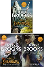 Terry Brooks Shannara Series 3 Books Collection Set (The Black Elfstone, The Skaar Invasion, The Sorcerers Daughter)