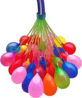 Magic Balloons 148 Globos de Agua MÁGICOS de Relleno rápido simultáneo con Adaptador para Manguera, espectaculares para Ju...