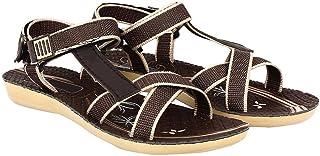Shoefly Women/Girls Brown-958 Sandals & Floaters
