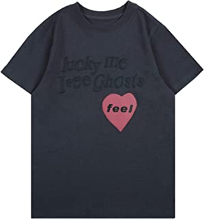 Keruimeihao666 Kanye Lucky Me I See Ghosts Children T Shirts Short Sleeve Boy Tee Kids T-Shirt Summer Tops