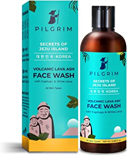Pilgrim Mild Face Wash Cleanser for Deep Pore Cleansing, Oil Control, Pollution Defence,Dry, Oily and Acne Skin, Korean Be...