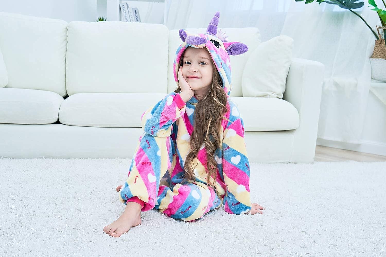 Unisex Children Unicorn Pyjamas Halloween Kids Onesie Costume