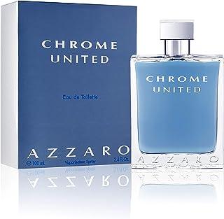 Azzaro Chrome United - perfume for men, 100 ml - EDT Spray