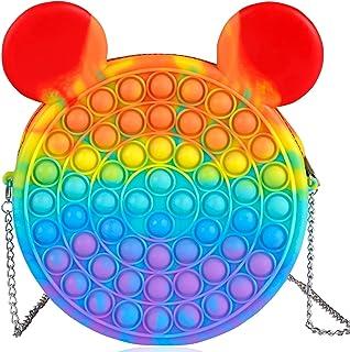 Sponsored Ad - Pop Popper It Bag for Girls, Push Sensory Bubble Popping Pops Its Purse Fidget Bags Popitz Popits Hangdbag ...