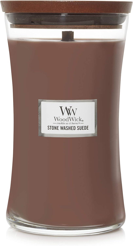 WoodWick 1666273 jar Outlet SALE Candle Award Medium Brown
