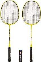 Verschiedene Optionen 6 Federballe Prince Pro Nano Ti 75 Graphite Badmintonschlager Series