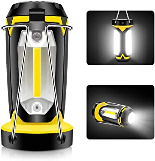 LED Camping Lantern Rechargeable, LED Lanterns, Portable Camping Lights,2200mAh Emergency Camp Light Flashlights by USB Ch...