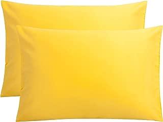 FLXXIE Microfiber Queen Pillowcases, 2 Pack Ultra Soft Premium Quality, 20