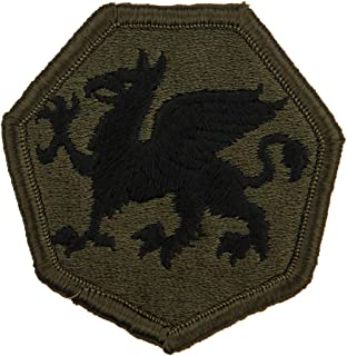 108th Infantry Division Patch Subdued