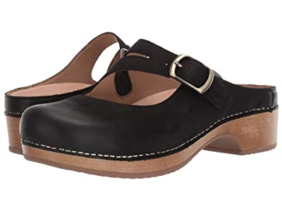 Dansko Britney (Black Burnished Nubuck) Women