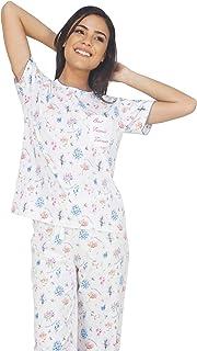 347f5b5673 Cotton Women's Pyjama Sets: Buy Cotton Women's Pyjama Sets online at ...
