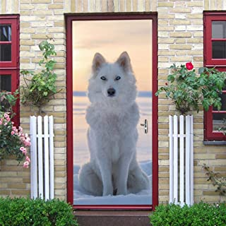 Cyril Chaplin Window Film Static Cling Glass Film,Geometric Wallpaper for Door DIY PVC Self Adhesive Removable Waterproof Poster Wall Mural Decals Decor Home Design deur Sticker (15 x 78.7 Inch)