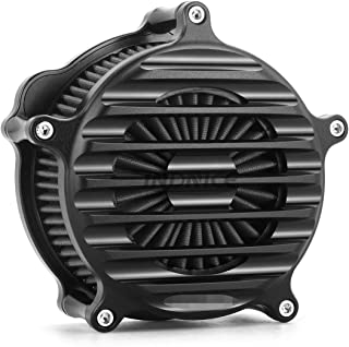 CNC black Nostalgia Venturi Air Cleaner for harley sportster 1200 air filters xl883 sportster 883 1991-2018