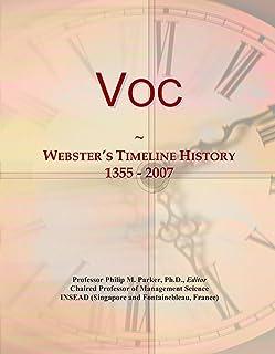 Voc: Webster's Timeline History, 1355 - 2007