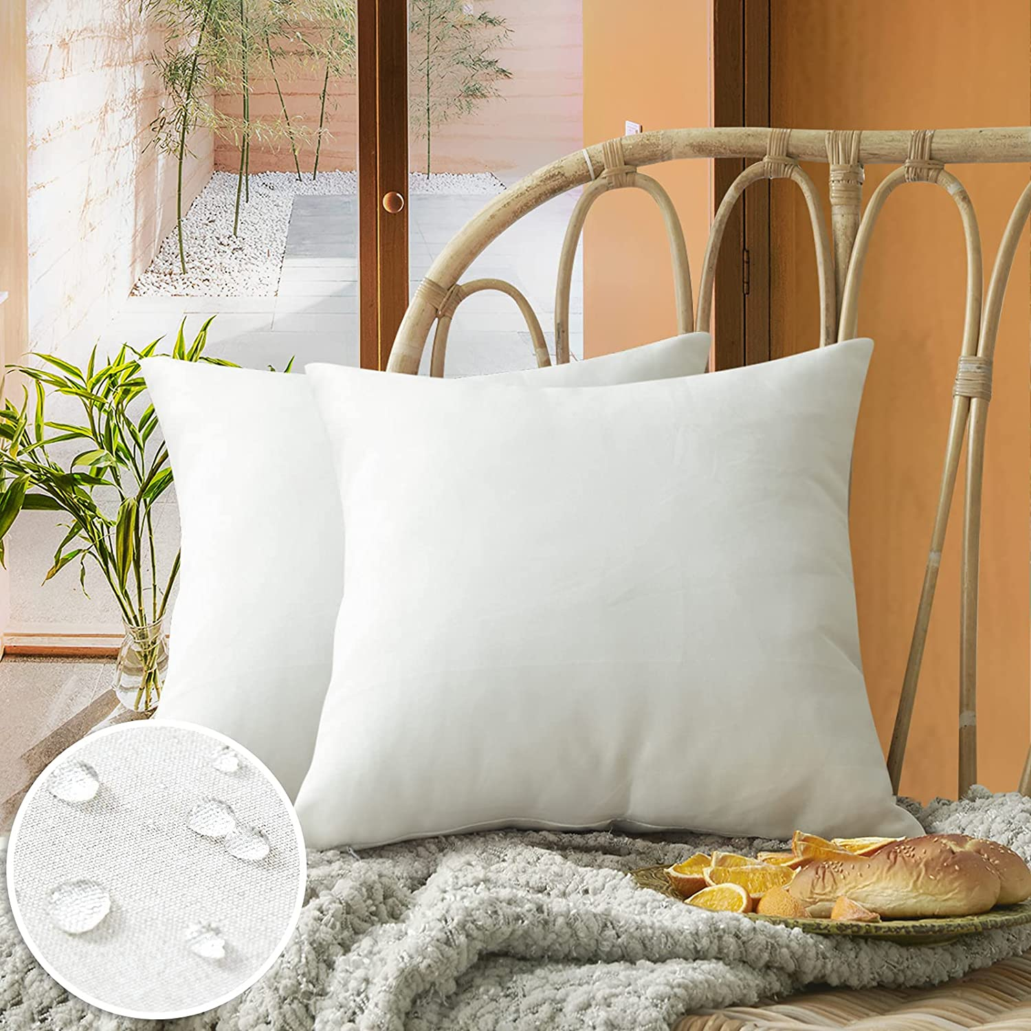 FEVERQIYI Outdoor SALENEW very popular! Waterproof Throw Covers Pillow Decorative Special price Squa