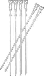 FENNEK Grillspieße lang | 6 Stück mit Aufbewahrungstasche | Grillzubehör aus Edelstahl | Made in Germany