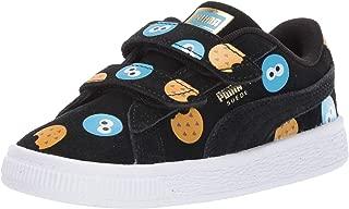 PUMA Kids' Sesame Street 50 Suede Velcro Sneaker