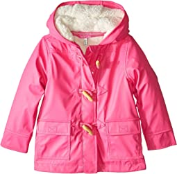 Waterproof Rubber Duffle Coat (Toddler/Little Kids)