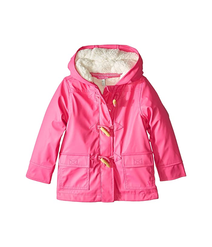 full range of specifications good quality wide selection of colors Joules Kids Waterproof Rubber Duffle Coat (Toddler/Little ...