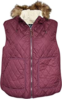 Pulse Womens Plus Extended Size Bleeker Insulated Sherpa Vest