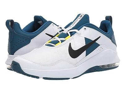 Nike Air Max Alpha Trainer 2 (White/Black/Blue Force/Dynamic Yellow) Men