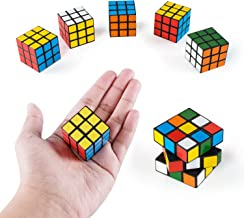Super Z Outlet Mini Color 3x3 Cube Puzzle Game Toy for Party Favors (6 Pack) (12 Pack)