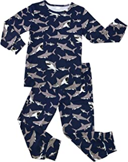 TUPOMAS Kids Pajamas Girls Boys Cute and Comfy Sleepwear 2pcs Set Pjs Baby Nightwear Size 2-9 Years Old