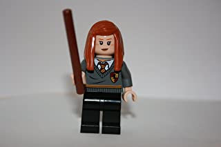 Ginny Weasley Gryffindor with Wand ~Lego Harry Potter Minifigure