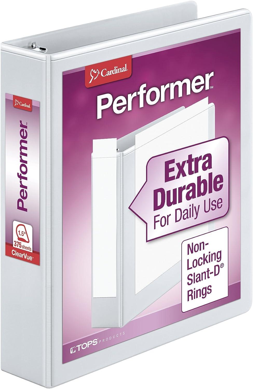 Cardinal Performer 3-Ring 1 year warranty Binder Ring 1.5
