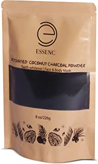 Sponsored Ad - Aessenc Activated Natural Coconut Shell Charcoal Powder that rejuvenates face, body, hair and skin, and als...