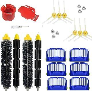 600-b03 filtros Supon iRobot Roomba accesorio cepillos de repuesto para iRobot Roomba serie 600 accesorios de repuesto cepillo de cerdas para robot aspirador