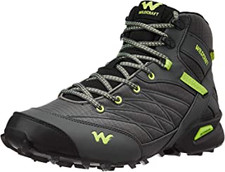 Wildcraft 8903338170235 Men's Sports Shoes (Black & Green)