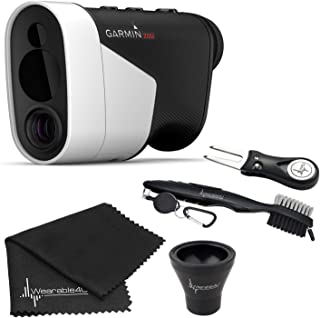 Wearable4U Garmin Approach Z82 (2020 Release) Golf GPS Laser Rangefinder with Included Lens Cloth, Carabiner Ultimate Golf... photo