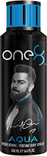 One 8 by Virat Kohli AQUA Perfume Body Spray For Men, 200 ml