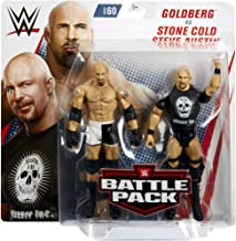 Ringside Goldberg & Stone Cold Steve Austin - WWE Battle Packs 60 Mattel Toy Wrestling Action Figure 2-Pack