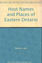 Host Names and Places of Eastern Ontario