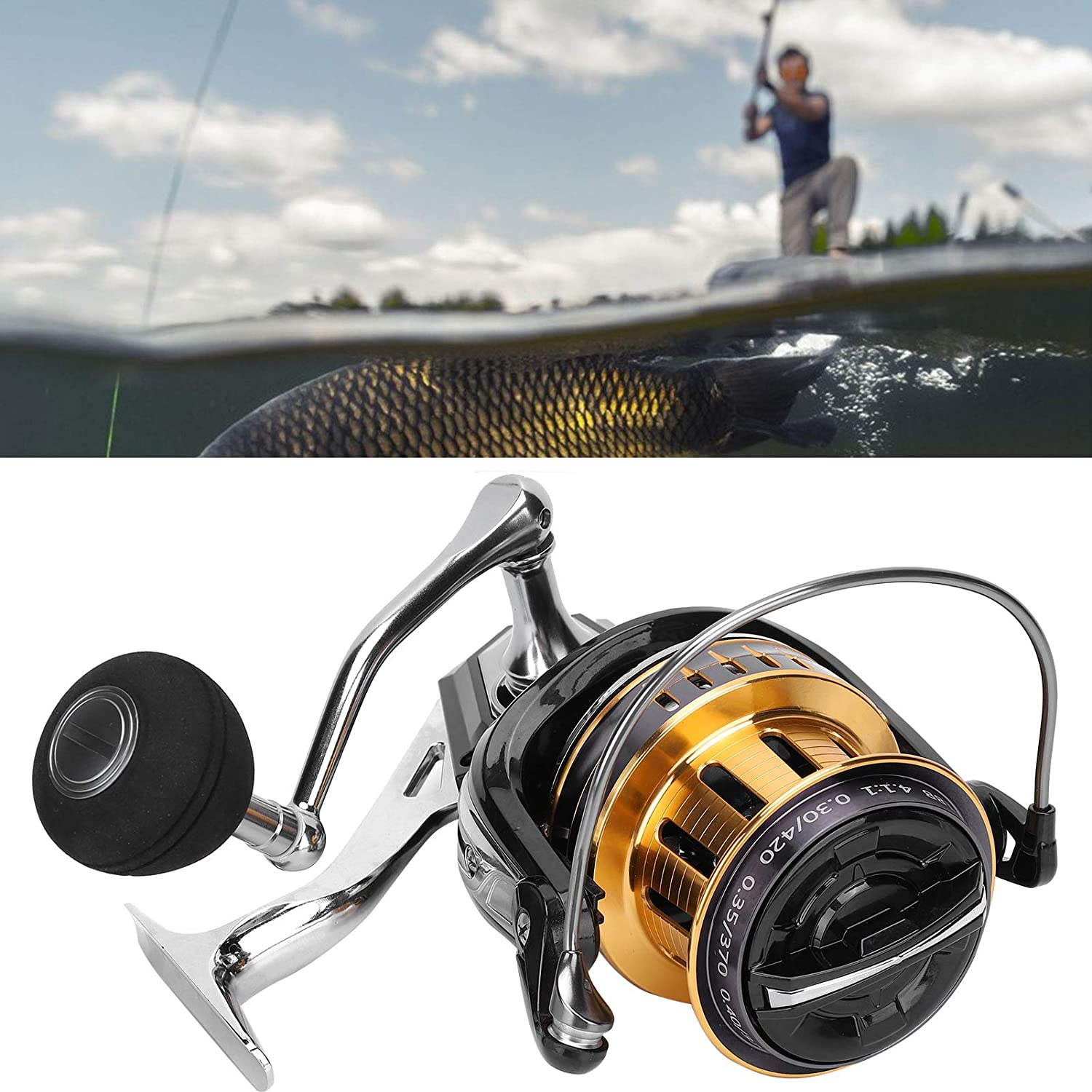 Raleigh Mall 5+1 BB Fishing Reel Far Animer and price revision Wheel Fisherme for Throw