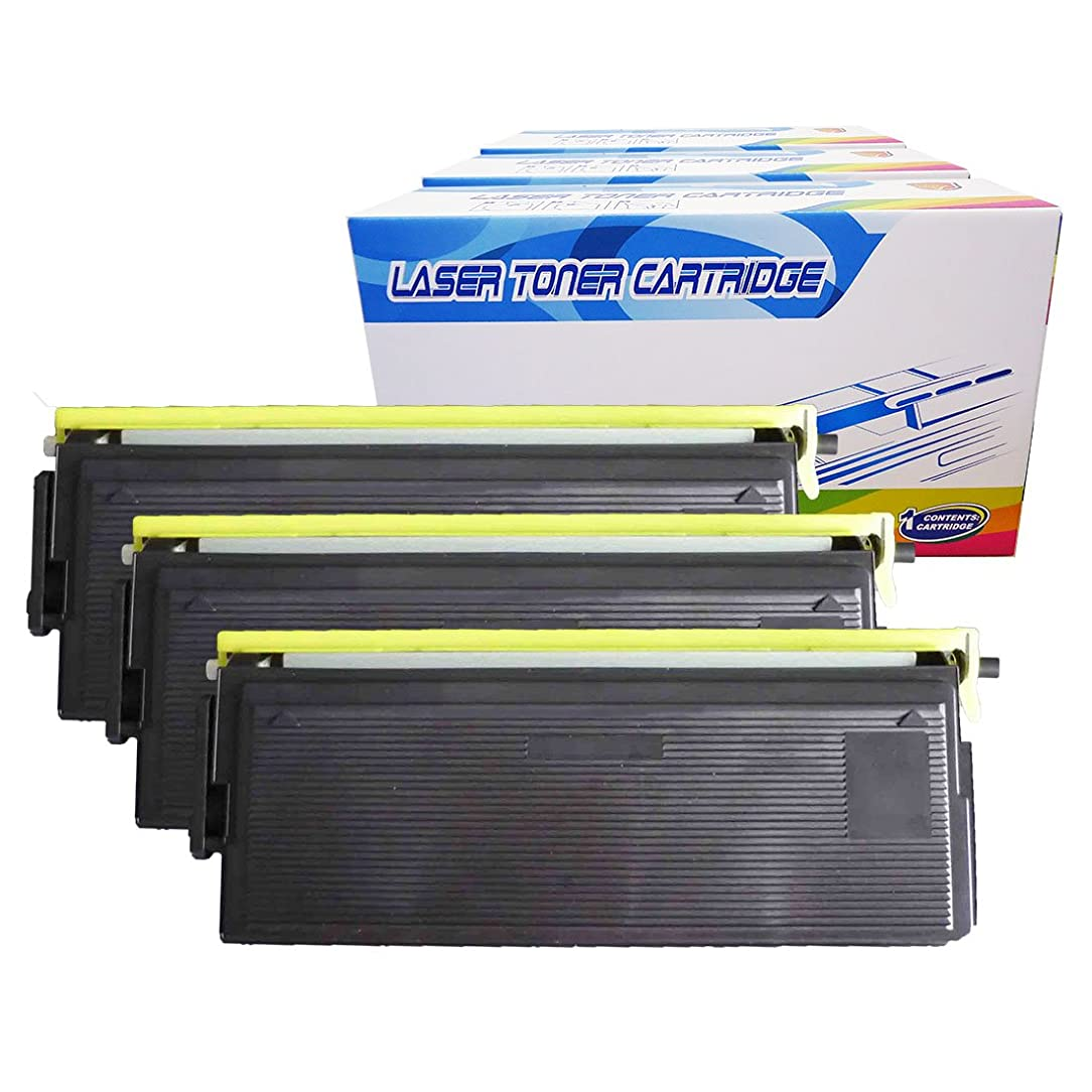 Inktoneram Compatible Toner Cartridges Replacement for Brother TN570 TN540 TN-570 TN-540 MFC-8220 MFC-8440 MFC-8640 MFC-8840D MFC-8840DN DCP-8040 DCP-8040D DCP-8045D HL-5100 HL-5130 HL-5140 (BK-3PK)