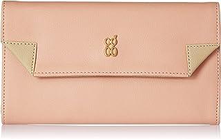 Baggit Women's 3 Fold Wallet (Peach)