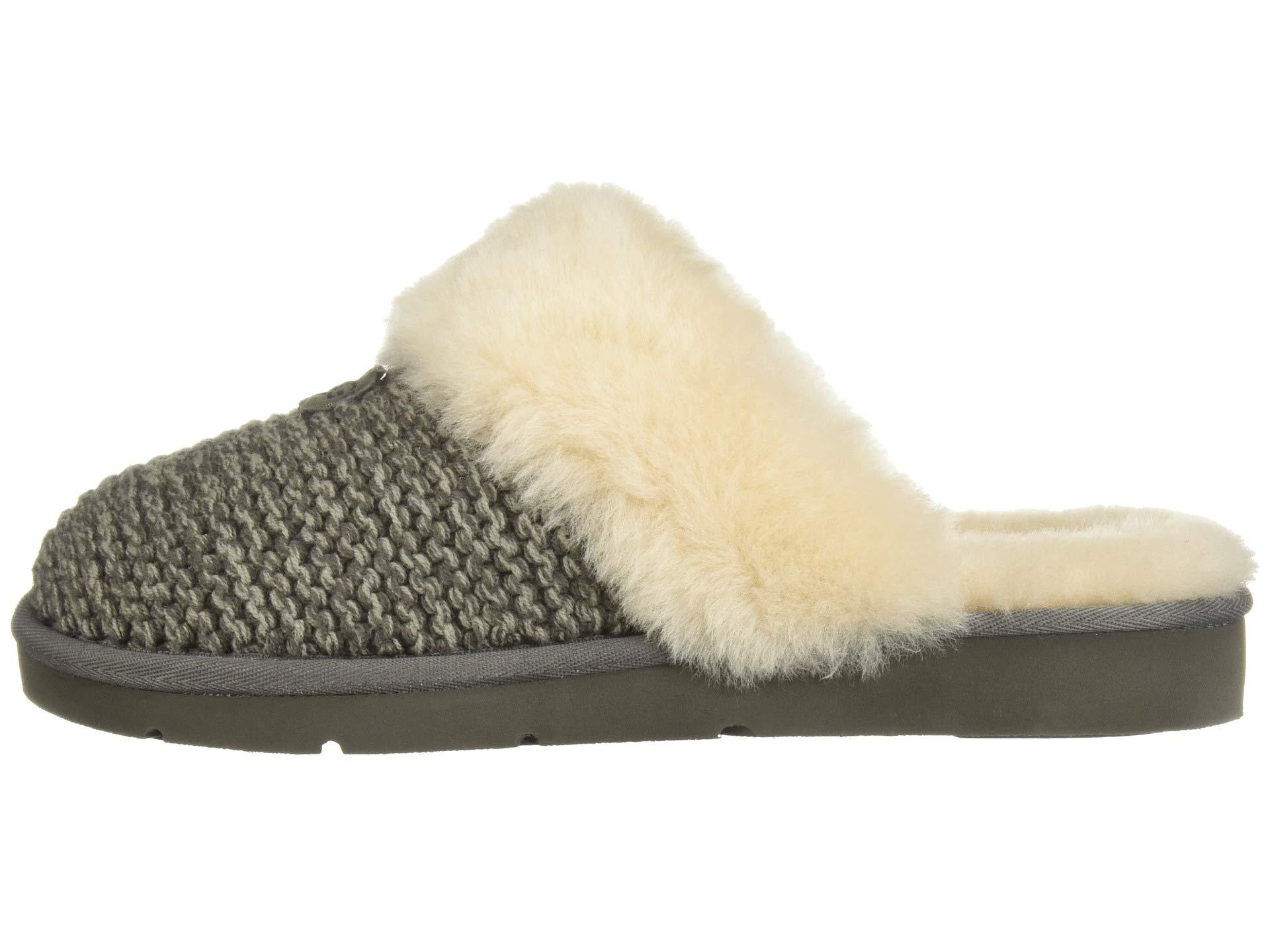 Ugg Slipper Ugg Cozy Charcoal Knit Knit Cozy xf1xq07w