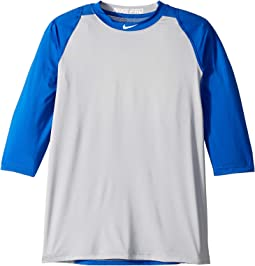 Pro 3/4 Sleeve Baseball Top (Little Kids/Big Kids)