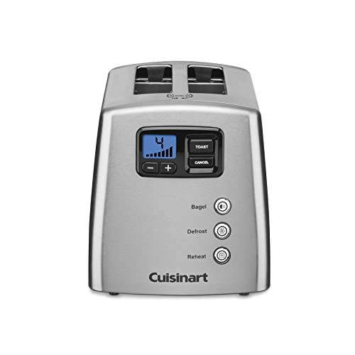 Cuisinart CPT-420 Touch to Toast Leverless 2-Slice Toaster, Brushed Stainless Steel