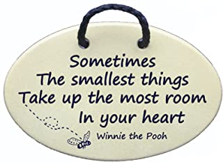 sometimes the smallest things winnie the pooh plaque