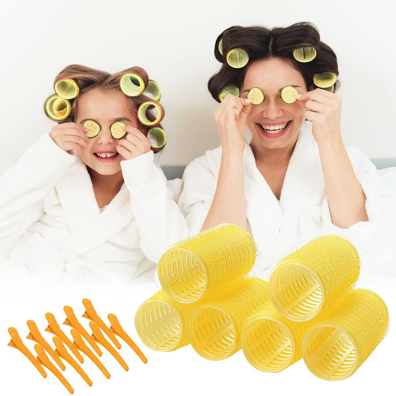 Popular popular LightClouds 18 Pack Hair online shop Rollers Self-adhesive Stick