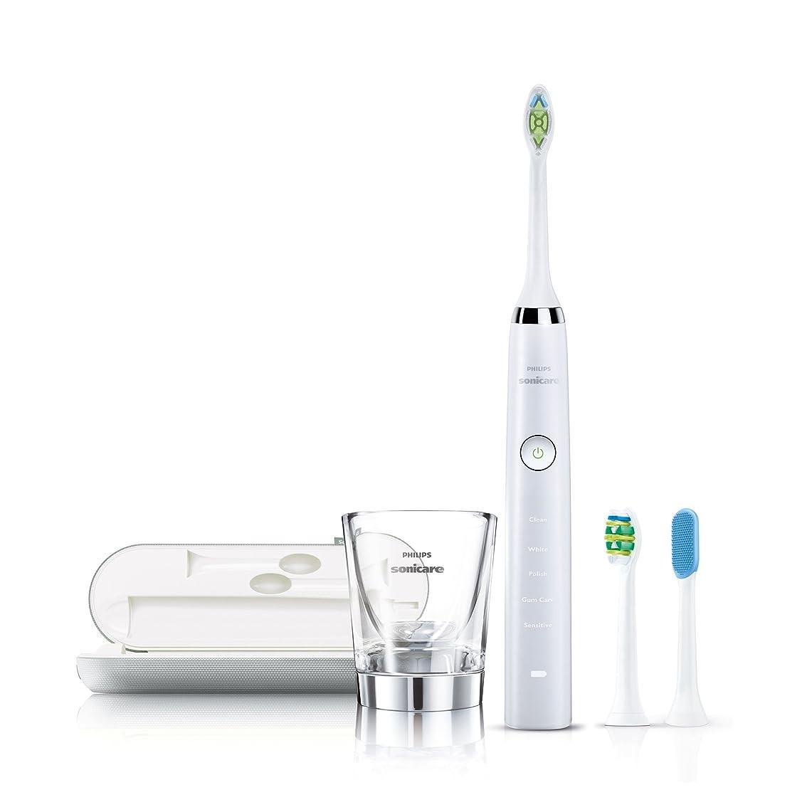 経度適用する返還【2015年モデル】フィリップス 電動歯ブラシ ソニッケアー ダイヤモンドクリーン ホワイト HX9308/80